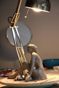 modelage de l'atelier ceramique