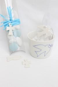 porcelaine  communions contenant dragees